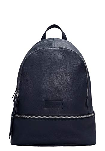 Liebeskind Berlin Damen Essential Lotta Backpack Small Rucksackhandtasche, Blau (Navy Blue) 11x32x26 cm -