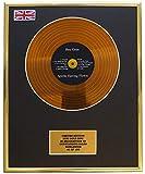 Limited Edition Cd Display Bee Gees/Mini Metal Gold Disc/EDICIÓN Limitada/COA/Spirits Having Flown