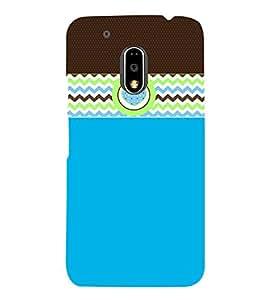 Cute Wall Art Fashion 3D Hard Polycarbonate Designer Back Case Cover for Motorola Moto G4 Plus :: Moto G4+ :: Moto G4