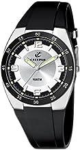 Calypso  watches K6044/3 - Reloj analógico de cuarzo para niño, correa de goma color negro