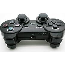 PRIMAVERA-Mando Dual Shock 3 Wireless Bluetooth, Color Negro (PS3)