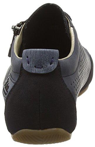 Rieker 57725 Women Low-top Damen Sneakers Blau (navy/denim/atlantis / 14)