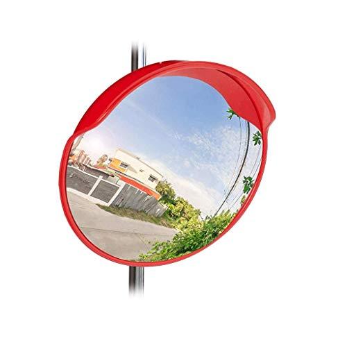 WYJW Außenverkehr Weitwinkel Gebogene Konvexe Straßenspiegel Supermarkt Diebstahlsicherung Spiegel 45 cm Blinden Fleck Spiegel (Größe: 100 cm) (Blinde Fleck, Der Lange Spiegel)
