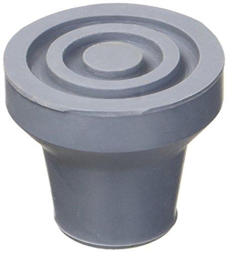 GiMa 27796Gummi Topper, 16mm Durchmesser, 5Stück, grau