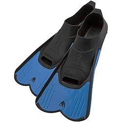 Cressi DP182033 Palmes légères Bleu Pointure 33/34