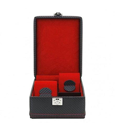 friedrich-23-ecrin-4-montres-carbon-couleur-fibre-de-carbone-interieur-rouge