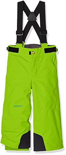 Ziener Kinder Ando Jun (Pant Ski) Skihose, Lime Green, 140 (Green Jungen-lime)