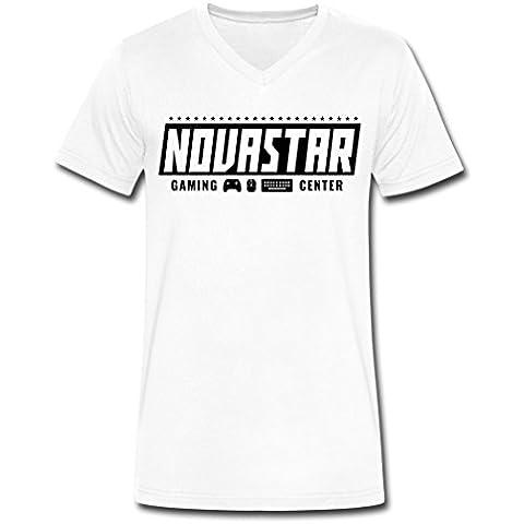2016 Original Novastar Gaming Center White Male T-Shirts XXXX-L