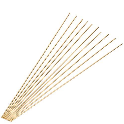 10Stücke Schweißstäbe 1,6mm Messing Schweißen Löten Stangen Drahtelektroden Sticks 250mm