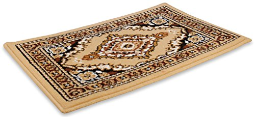 Cartrend Orientteppich, Beige - Islam-teppich