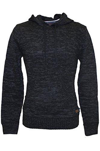 Indi Code Knit wear cotone Pullover/Sweater–in 3colori Nero