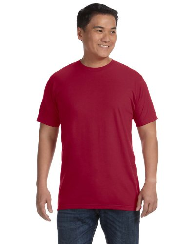 anvil Herren Sustainable T-Shirt / 450 Independence Red