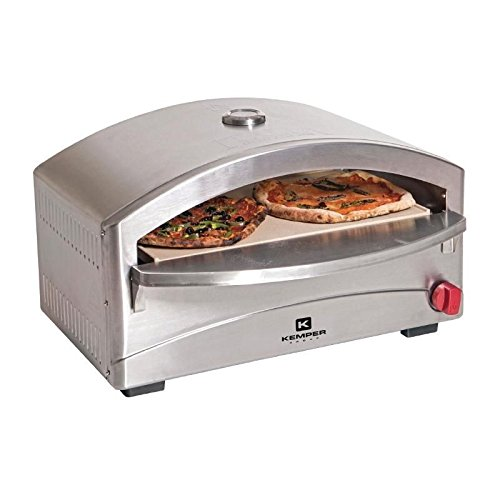 Heavy Duty Mobile Portable Gas Pizza Oven Commercial Kitchen Outdoor Cafe Event
