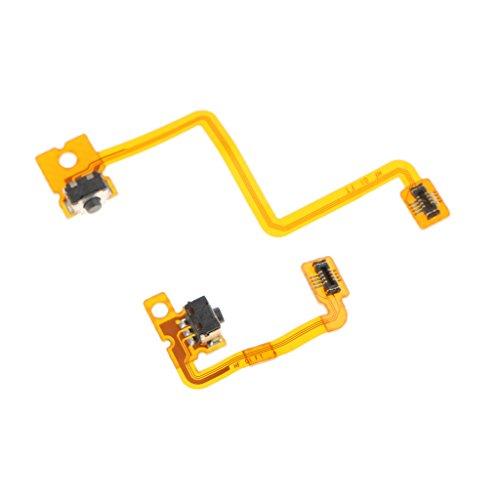 MagiDeal Schultertasten L und R Schalter-Kabel Flexkabel Flachbandkabel für Nintendo 3DS