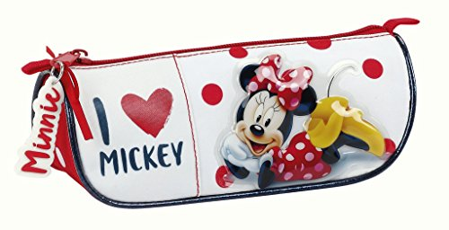 Minnie Mouse – Estuche portatodo Triangular (SAFTA 811748224)