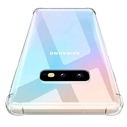 Losvick Coque Galaxy S10e 2019, Housse Silicone Souple Premium Matériau TPU [Liquid Clear] Protection Ultra Fine, Extrêmement Antichoc, Anti-Rayures Bumper Etui pour Galaxy S10e - Transparent