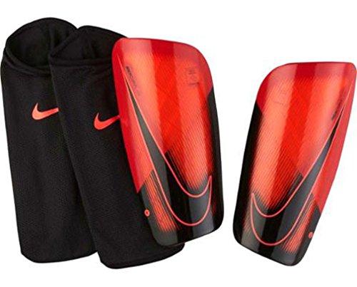 Nike Schienbeinschoner Mercurial Lite Schienbeinschützer, Bright Crimson/University Red, One Size (Schienbeinschoner Fußball Mercurial)