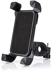 Soporte para bicicleta soporte de bicicleta Soporte de cuatro esquinas 360grados de rotación, negro