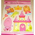 e-baby-store 3D 3 Dimensional Princess Castle Knight Dragon Wall, Furniture Stickers For Nursery, Childrens, Baby, Childs, Kids, Boys, Girls, Bedroom, Playroom. Decals, Stickarounds, Murals, Wallpaper, Adhesives.