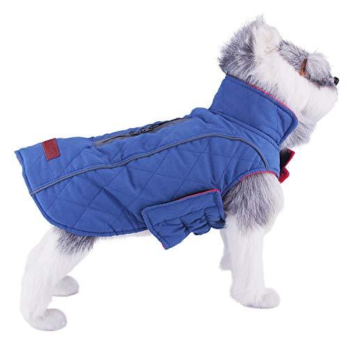 ThinkPet Capa Perros algodón Abrigo Reversible Ligero