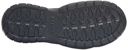 Crocs Swiftwater Suede Moc, Baskets Basses Homme Marron (Espresso/Black)