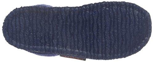 Giesswein Jungen Treuen Flache Hausschuhe Blau (530 Jeansblau)