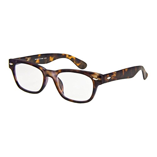 I NEED YOU Lesebrille Woody / +2.50 Dioptrien/Havanna, 1er Pack