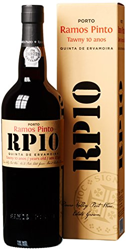 Ramos Pinto Quinta da Ervamoira 10 Years Old Tawny mit Geschenkverpackung (1 x 0.75 l)