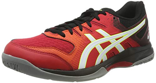 ASICS Gel-Rocket 9, Scape per Sport Indoor Uomo, Rosso (Speed Red/White 600), 43.5 EU