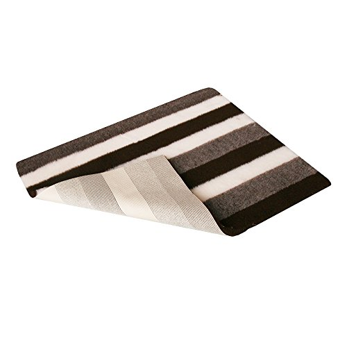 Vetfleece-Non-Slip-With-Stripes-Design-Roll-Pro-Whelping-Fleece-Dog-Cat-Animal-Puppy-Kitten-Bedding-3M-X-075M-118-X-30-Brown-Stripes
