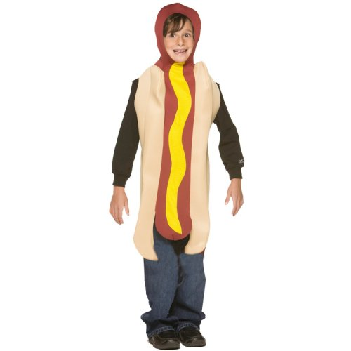 Hot Dog - Kinder-Kostüm - Alter 7 bis 10 (Halloween Frankfurter De)
