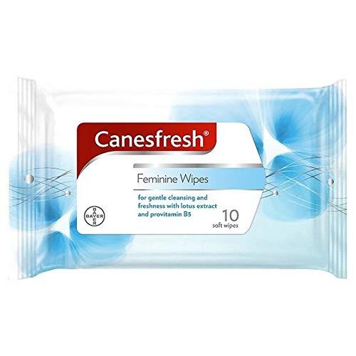 Canesten Canesfresh Weiblich Waschtücher 10 Pro Packung