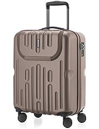 Havel - Koffer Handgepäck Hartschalen-Koffer Trolley Rollkoffer Reisekoffer 2er Koffer-Set Trolley-Set, TSA, (S/L)