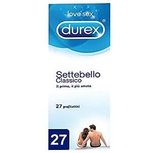 Durex Settebello Classico Preservativi - 27 Pezzi
