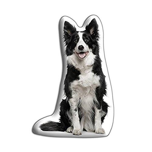 Nuovi cuscini in poliestere satinato, Velore per cuscino a forma di cane Border Collie - Border Collie Lovers