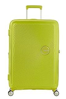American Tourister Soundbox Spinner Espandibile Bagaglio A Mano, 67 cm, 71,5/81 L, 3,7 Kg, Verde (Tropical Lime) (B06Y3KMMFG) | Amazon price tracker / tracking, Amazon price history charts, Amazon price watches, Amazon price drop alerts