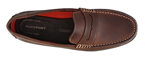 Rockport - Herren Bayley Penny Schuhe Cocoa Leather