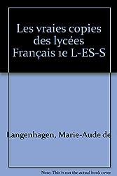 Les vraies copies des lycées Français 1e L-ES-S