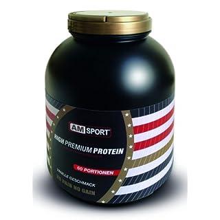 AM Sport High Premium Protein 1800g Vanille - 100% Molkenprotein-Isolat