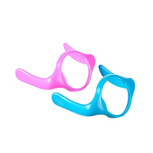 difrax-708b03-handgriffe-fur-die-s-babyflasche-natural-2-stuck-rosa-aqua