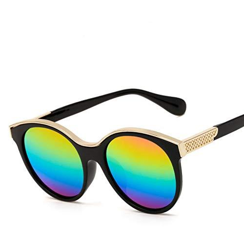YOGER Sonnenbrillen Candy Farbe Sonnenbrille Frauen Designer Sonnenbrille Im Freien Retro Runden Kreis Brille