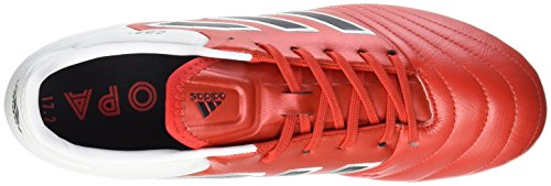 adidas Herren Copa 17.2 Fg Fußballschuhe Rot (Red Core Blackfootwear White)