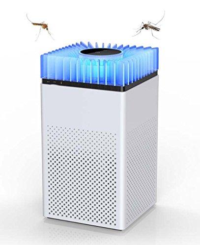 Insektenspray Die Neue Smart Home Room-Moskito-Lampe. ABS-Photokatalysator-Mückenschutzmittel Muteless Radiation-Mückenschutzmittel, Online/Wohnzimmer USB-Moskito-Mörder Schwarzweiß (Farbe : Weiß)