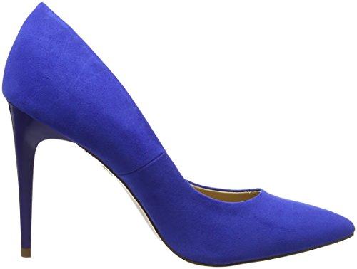 Donna Look Scarpe Blu Nuovo Blu Chiuse Yummy metà SqTddgI