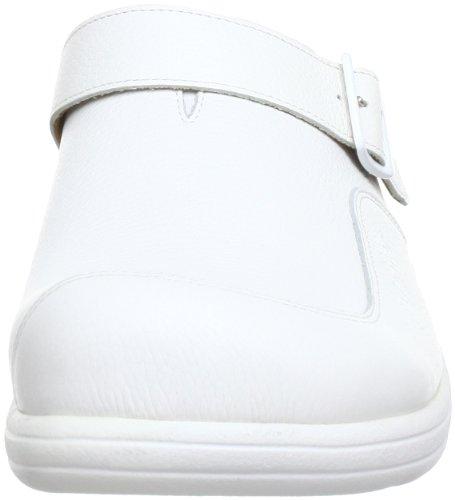 Ganter 5-253937-02000, Mules homme Blanc (Weiss 0200)