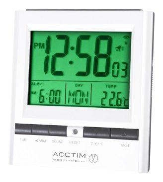 Acctim radio Controlled multifonctionnel Maison Chambre à coucher Bureau Réveil au quotidien