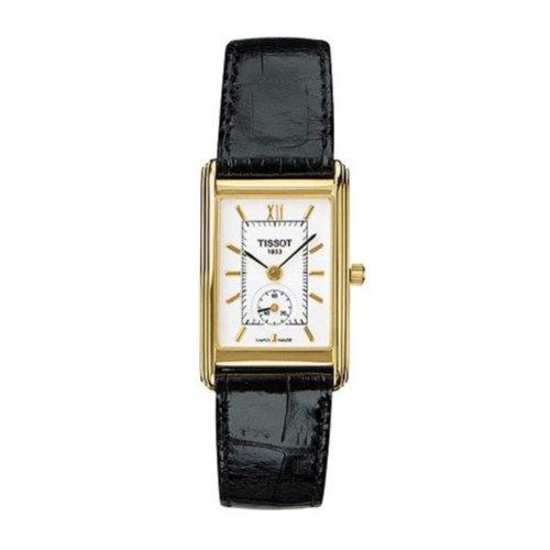 Tissot Montre bracelet Femme, Cuir, couleur: noir