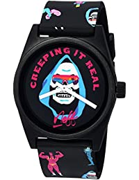 Neff Men's Daily Wild Watch Creepin Black