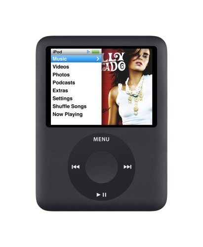 Apple iPod Nano 3 MP3-Player (inkl. Video-Funktion) 8 GB schwarz