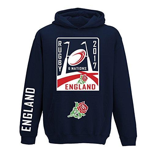 D2W Sweatshirt Rugby-6Nationen 2016verfügbar für jedes Nation XS bis 5x L